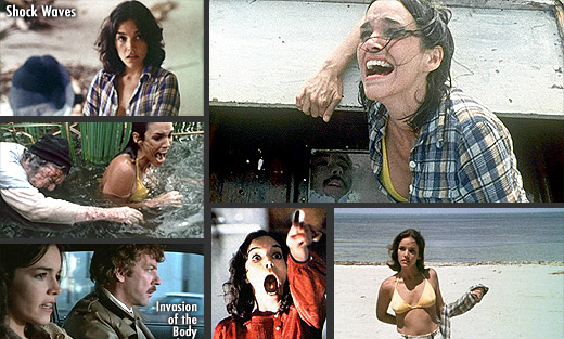 Brooke Adams in Shock Waves (1977), Invasion of the Body Snatchers (1978) and David Cronenberg's The Dead Zone (1983)