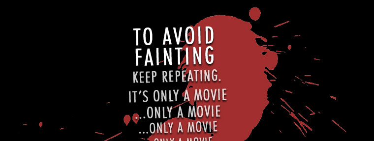 Keep repeating: it's only a movie!